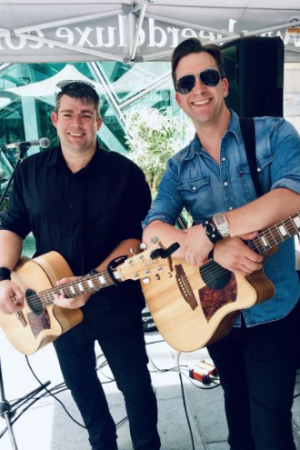 Musical duo Carter and Williams