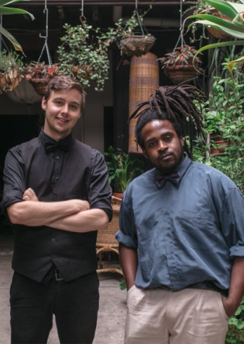 Musical duo Groove Junction