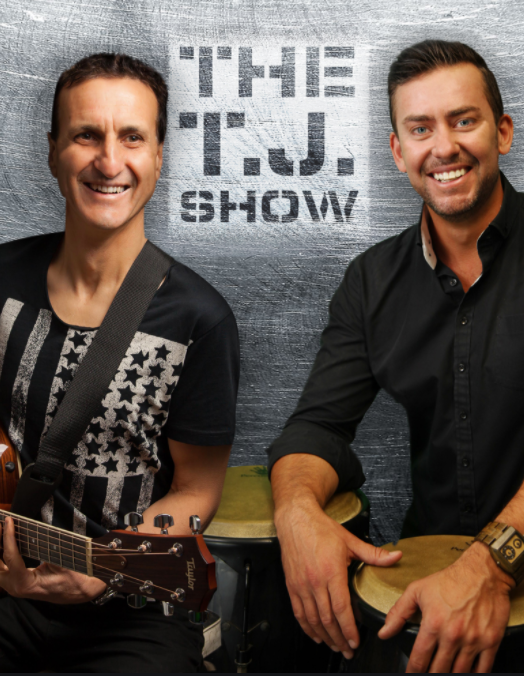 Musical duo The TJ Show