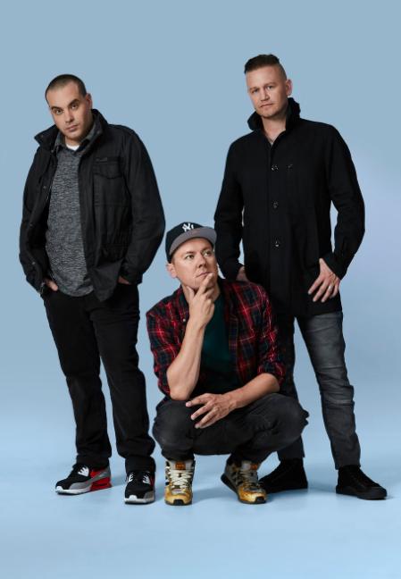 Australian hip hop group Hilltop Hoods