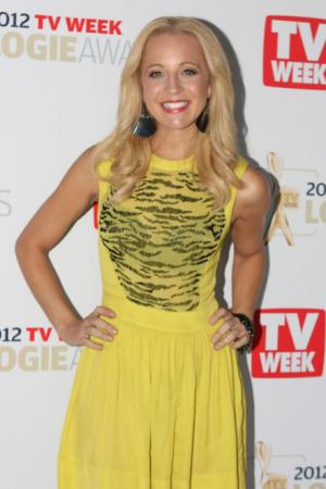 Presenter Carrie Bickmore