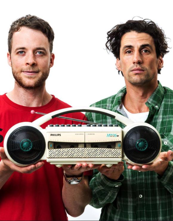Australian comedy duo Hamish & Andy