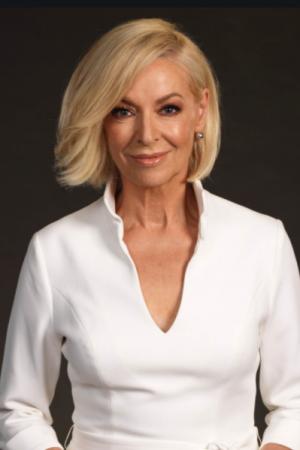 Presenter and journalist Liz Hayes