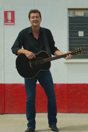 Australian country music singer Adam Harvey