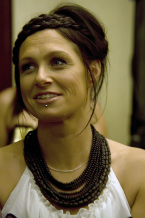 Country music star Kasey Chambers