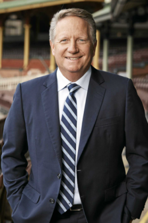 Former cricketer Ian Healy