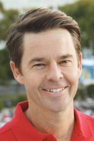 Australian tennis great Todd Woodbridge