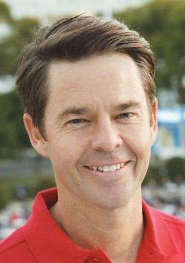 Australian tennis great Todd Woodbridge